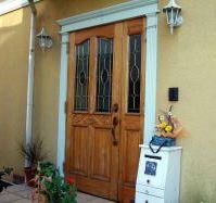 ルームの玄関