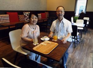 優しい夫婦二人の治療室です  岡野幸生・道子