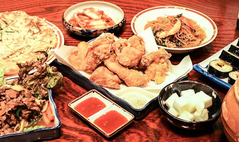 韓国家庭料理  海雲台(ヘウンデ)