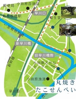 最寄りの早川駅から徒歩5分。